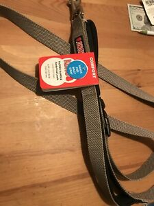 KONG  COMFORT Padded Handle Hands-Free Leash Gray 6 FT L