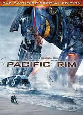 PACIFIC RIM DVD TWO-DISC SPECIAL EDTION PG-13 LANGUAGE&SUBTITLES EN/FR/SP WSV