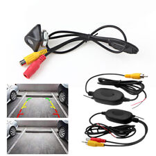 Wireless Receiver Car Reverse Backup Camera Front/Side/Rear View Cam Universal