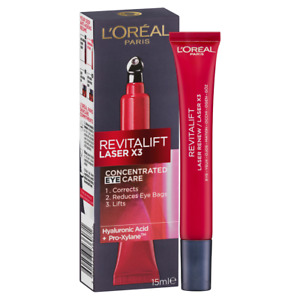 L'OREAL REVITALIFT LASER X3 CONCENTRATED EYE CARE SERUM 15mL
