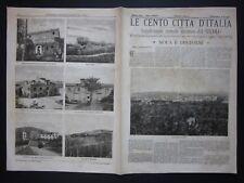 1899 NOLA E DINTORNI Le Cento Città d'Italia Sonzogno riccamente illustrato