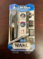 WAHL All in One Nose Ear Body Beard Rechargeable Groomer Precision Blade Trimmer