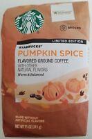 NEW Starbucks Pumpkin Spice Flavored Ground Coffee 11 oz FREE WORLDWIDE SHIPPING
