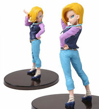 Bandai BANPRESTO Dragonball Z Android 18# SCultures Tenkaichi 6 Toy Figure Doll