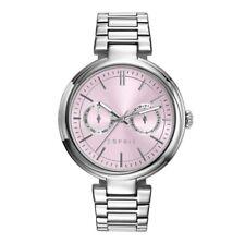 NEW Esprit ES109512002 Horloge Ames Street Ladies Watch, Rose Pink Dial, Silver