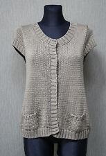 MARC O`POLO Damen Jacke M khaki Pullover Strickjacke TOP :28