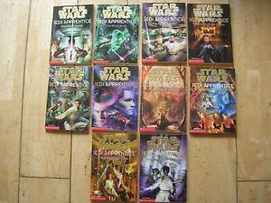 Jedi Apprentice paperbacks 1-10 by Jude Watson