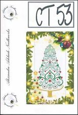 10% Off Alessandra Adelaide Needlework Counted X-stitch Chart-Christmas Tree 53