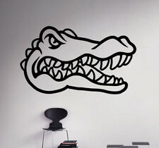 Florida Gators Logo NCAA College Football Wall Decal Vinyl Sticker Poster (9nc)