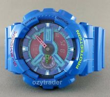 New Casio G-Shock GA-110HC-2A Limited Release Hyper Blue XL Shock Resist Watch