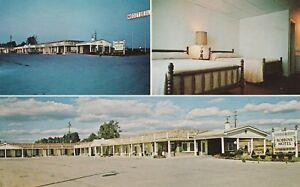 (L)  Richmond, KY - Robbins Motel - Exterior - Guest Room - Exterior and Sign