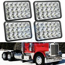 LED Headlights for Peterbilt Rectangular Headlights 379 378 357 2 Pairs (4pcs)