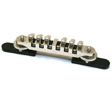 006-2758-000 Gretsch Roller Guitar Bridge Assembly Synchro-Sonic™ Nickel w/Base