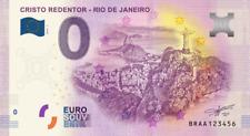 Billets Euro Schein Souvenir Touristique 2019 Rio de Janeiro - Cristo Redentor