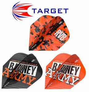 6 Dart Flights BARNEY ARMY - Raymond van Barneveld - RvB