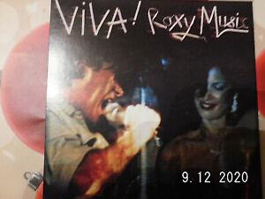 Roxy Music-- VIVA -   Remastered HDCD -  LP - CD - COVER