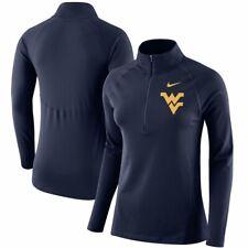 West Virginia Mountaineers Nike Dri-Fit Women L 1/2 Zip Element Core Jacket $70