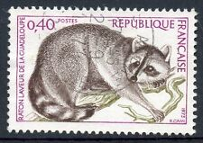 STAMP / TIMBRE FRANCE OBLITERE N° 1754 FAUNE RATON LAVEUR