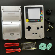 Pokemon Eevee Silver Housing Shell Case For Nintendo Game Boy Color GBC