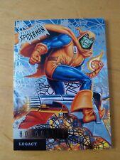 2017 Spiderman Ultra Hob Goblin Legacy Silver Web L5 Card Nm/Mint
