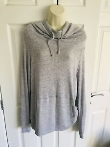 Ladies Lovely Next Grey Long Sleeve Hoodie Jumper Size 16/18 *BNWOT*