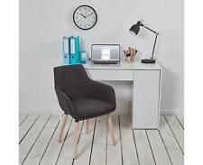 Holmes High Gloss Office Desk with Hidden Storage