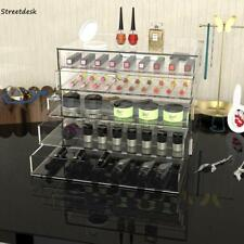 5 Drawer Cosmetic Organizer Clear Acrylic Makeup Case Jewelry Holder Box Storage