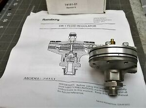 74151-01 Ransburg DR-1 Fluid Regulator  REFURBISHED [B2BB]