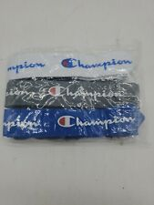 Champion Lanyard Detachable Keychain Badge ID 3 Pack Blue White Black