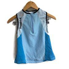 Jaggard Cycling Jersey Woman Blue Sleeveless Small