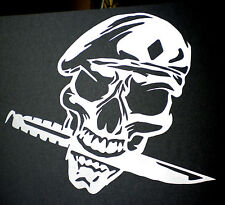 high detail airbrush stencil army skull four  FREE UK  POSTAGE