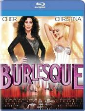 Burlesque (Blu-ray 2011) Christina Aguilera, Cher, NEW Sealed Free Shipping