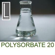 Polysorbate 20 Emulsifier Solubiliser  (Cosmetic Grade) (Tween20) 1 Litre 1000g