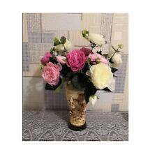 Artificial Flowers Bouquet Silk Peony Wedding Rose Fake Flower Floral Wedding