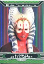 Star Wars Chrome Perspectives II Gold Parallel Base Card 6-J Shaak Ti