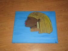 "Original Painting ""Tribal""-Large 16"" x 20""- Acrylics on Canvas"