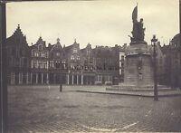 Bassi Nederland Belgium ? Foto Amateur Vintage Analogica Ca 1905