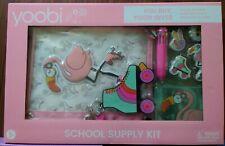 Yoobi Back to School Fashion Supply Kit Flamingo Pink New In Box