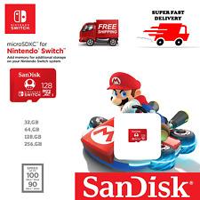 SanDisk Ultra Class 10 Micro SD Card 32GB 64GB 128GB 256GB For Nintendo Switch !