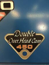 1969-1972 Honda CB450 DOHC Side Panel badges , emblems decals Set of 2