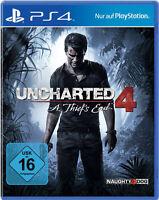 PS4 Uncharted 4 A Thiefs End PlayStation 4 Presse Version Neu & Deutsch