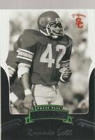 2006 Press Pass Legends #86 Ronnie Lott college card, San Francisco 49ers HOF