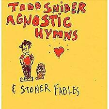 Todd Snider - Agnostic Hymns/Stoner Fables (NEW CD)