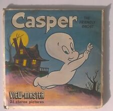 Rare View-Master Reel - Casper the Friendly Ghost- 3 reels - B533 -1961