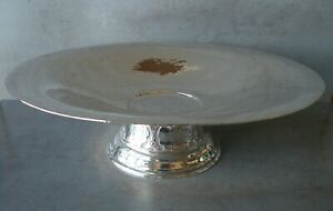 MMA HONORED BARBOUR SILVER CO. STERLING SILVER 124C FLARED FOOTED BOWL/TAZZA