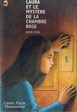 Laura et le Mystère de la Chambre Rose * Jacques DELVAL * Castor Poche Policier