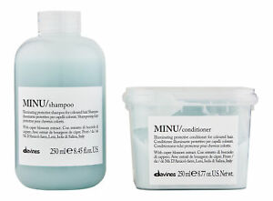 Davines Minu Shampoo & Conditioner 250 ml. Hair Care Set