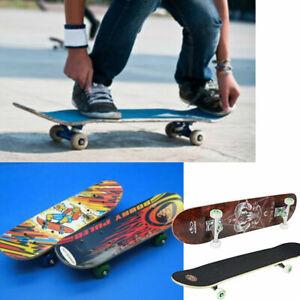 Skateboard in Legno Con Varie Fantasie e Colori Per Sport e Divertimento