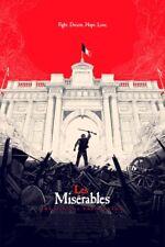 Les Miserables Mondo Olly Moss Poster Art Print Film Movie Musical Misérables LE