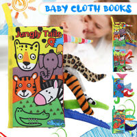 Soft Intelligence Development Cloth Bed Book Early Educational Toy Baby Infan
